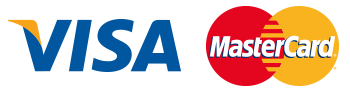 Visa and Mastercard accepted, SSL secure, McAfee certified