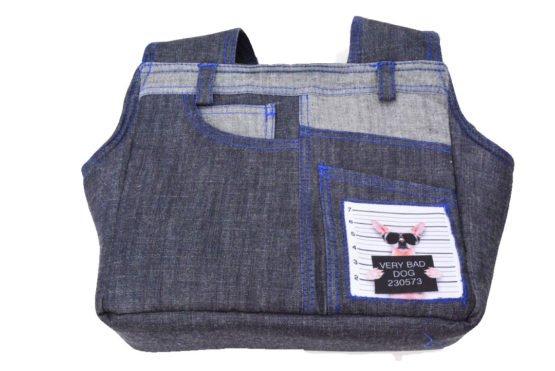 Dezigner Denim Comfortable Carrier Bag