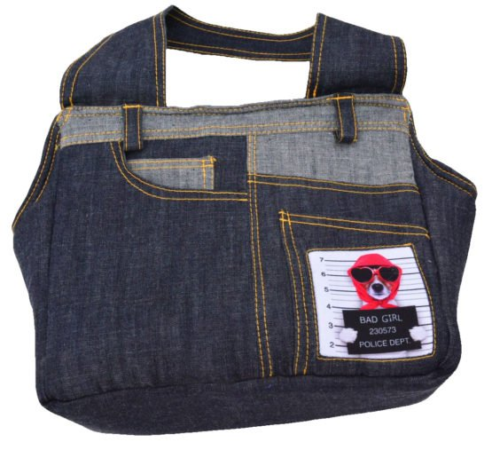 Dezigner Denim Comfortable Carrier Bag