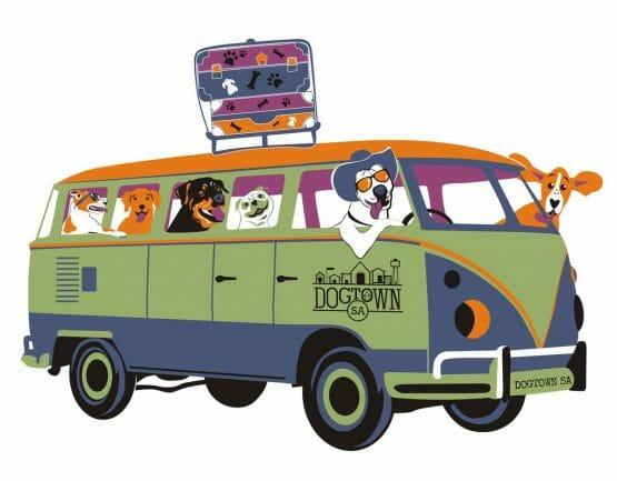 Combi Dog Holiday Van DogTownSA
