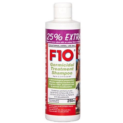 F10 Germicidal Treatment Shampoo