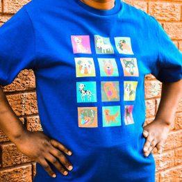 Dogtown SA Supporters T-shirt (Large Breed Dog Pics)