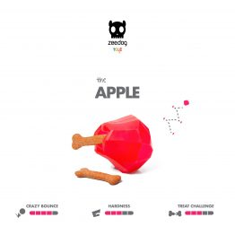 SuperFruitz Apple Treat Toy