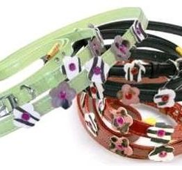 Cherry Blossom Lead and Collar