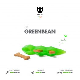 SuperVeggiez Greenbean Treat Toy