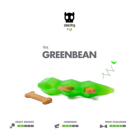 SuperVeggiez Greenbean Treat Toy
