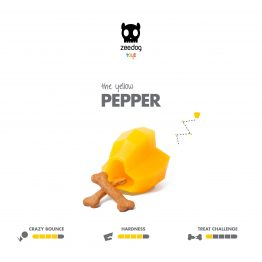 SuperVeggiez Pepper Treat Toy