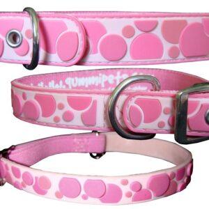 Gummi Collars - Pink Spots