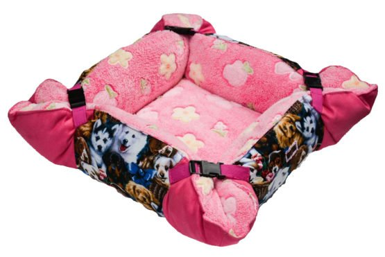 Puppy Bed Adjustable in Size