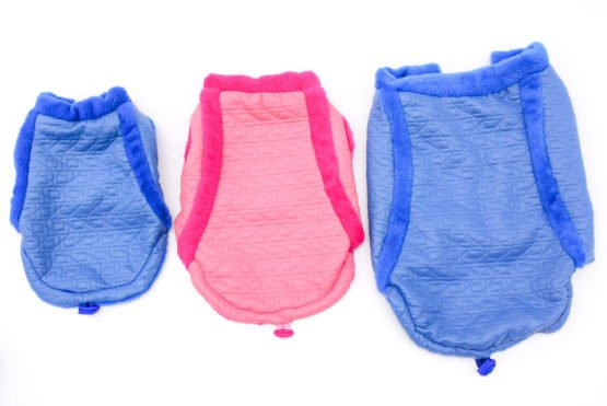 Sporty Cardigan in Pink or Blue