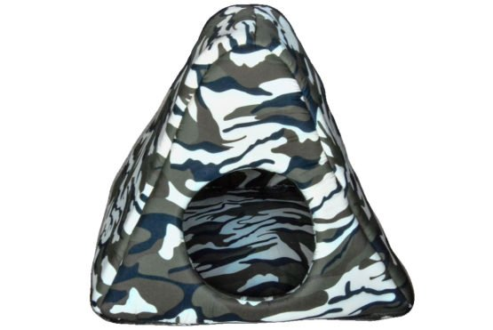 Green Camouflage Triangle Hide-away